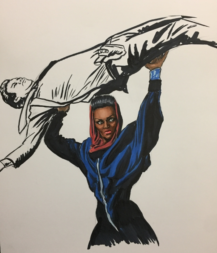 Grace Jones / Cimpoe Gallery