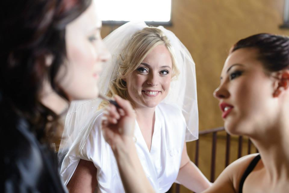 making up the girls kolbys wedding.jpg