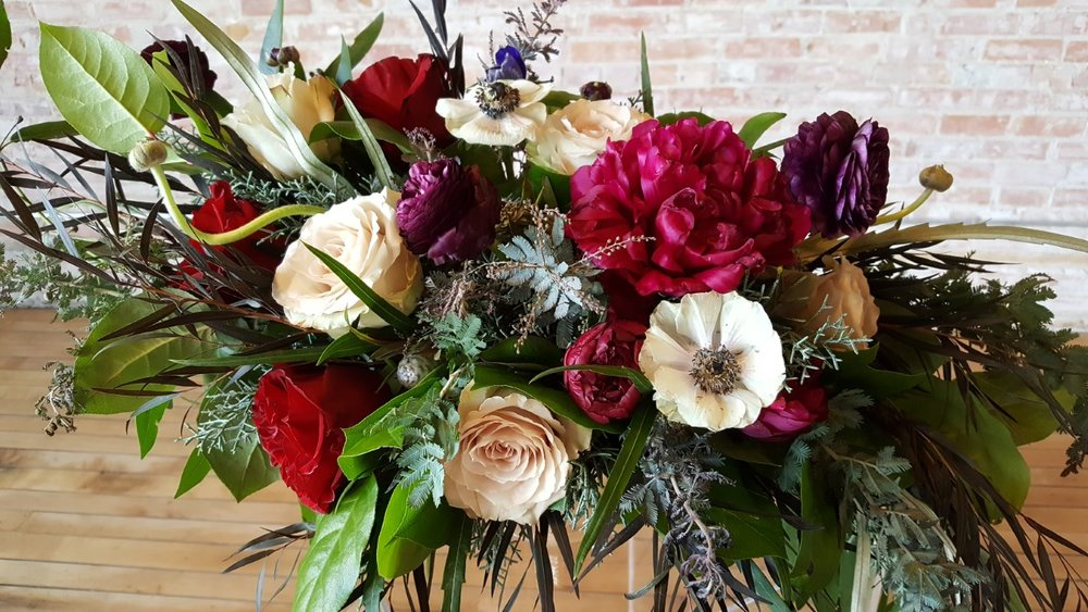 Stunning floral arrangement by Stephanie Anastasia Floral Design