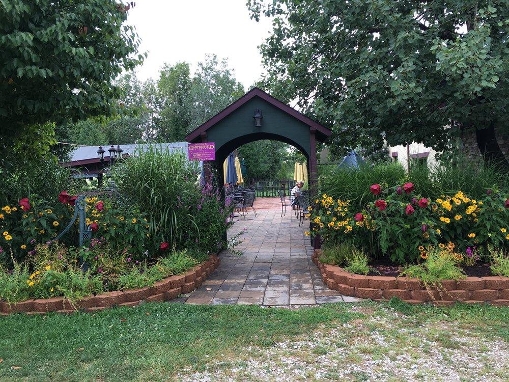 Harpersfield Patio entrance