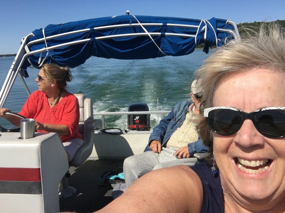 Jani at the helm.
