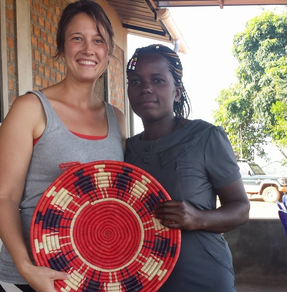 "Angela Blank & Ellen who is our main ""Circle of Friends"" Basket weaver."