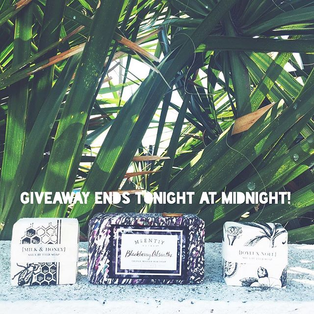 ENDS TONIGHT  GIVEAWAY!✨ Anthropologie soap. Guys it smells so good. |RULES|  1. You must be following or start to follow the page  2. Tag 3 or more of your friends in a comment below (for every three friends tagged your name goes in the hat once, the more friends you tag the greater the chance to win!) #freegiveaway #endsextrafficking #anthropologie #jelwery #love #hope #joy #allinfortheking