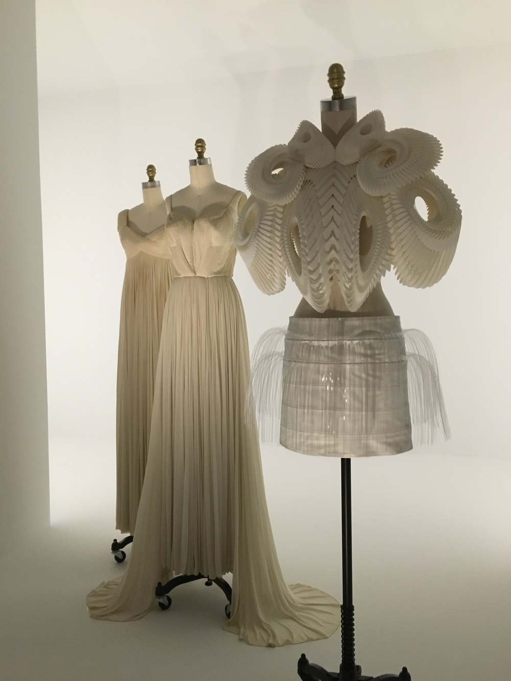Iris van Herpen    SS 2010, haute couture   Polyamide, acrylic, leather