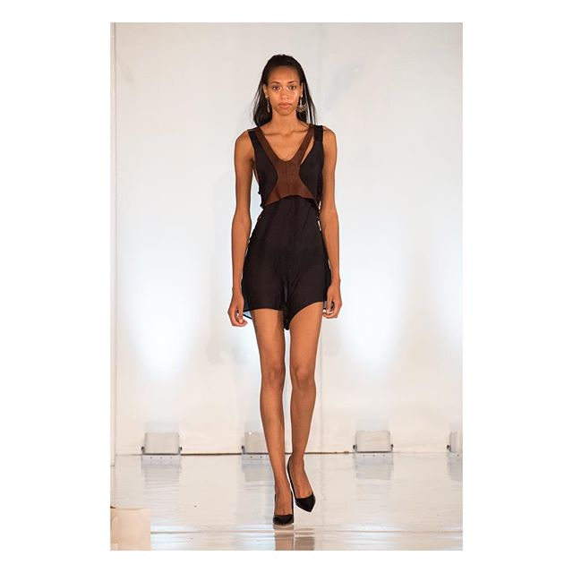 Starting the count down to PFW with the Hanna romper . . . . . @oxfordfashionstudio  #paris #pfw2017 #fashion #caravan #france #helloworld #leather #model #silk #pfw #OFS #oxfordfashionstudio #studio450 #runway