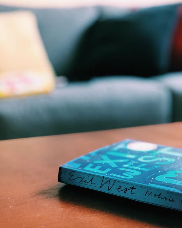 Exit West // Three-Four 💫 - I'm torn with this one you all. When I put it down, I honestly was like, what the heck was that? - See, it's the plot that trips me off a little. I definitely liked the book which is why I gave it 3 stars, but there's something about it that I wrestled with. The doors. - The book has such a serious tone to it that when the door thing began to pop up, I felt like it wasn't needed. I didn't see how it fit in. However, I also felt the doors were symbolic of something worth paying attention to, the journey. How no one place is better than the other. How we are all migrating and we see in Nadia and Saeed how the journey changes us and how it shapes us. - Overall, I didn't enjoy the book. But I wrestle with wondering if we needed that magical element added to this book. What are you thoughts? - Did you read Exit West? // What did the doors mean to you? #bookstagram