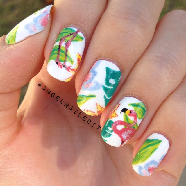 angel-flamingonailart