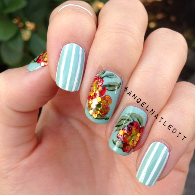 angel-flowernailart