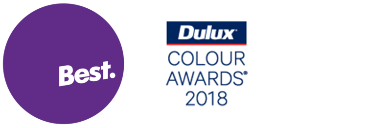 Best Awards 2018 Finalist    Dulux Colour Awards 2018 Finalist