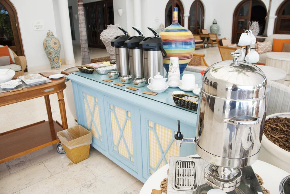 Tea Time at Cap Juluca