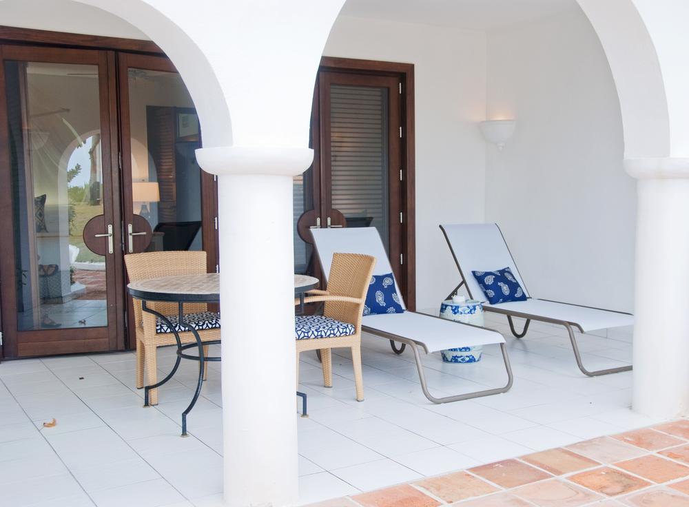 Cap Juluca ground-floor patio