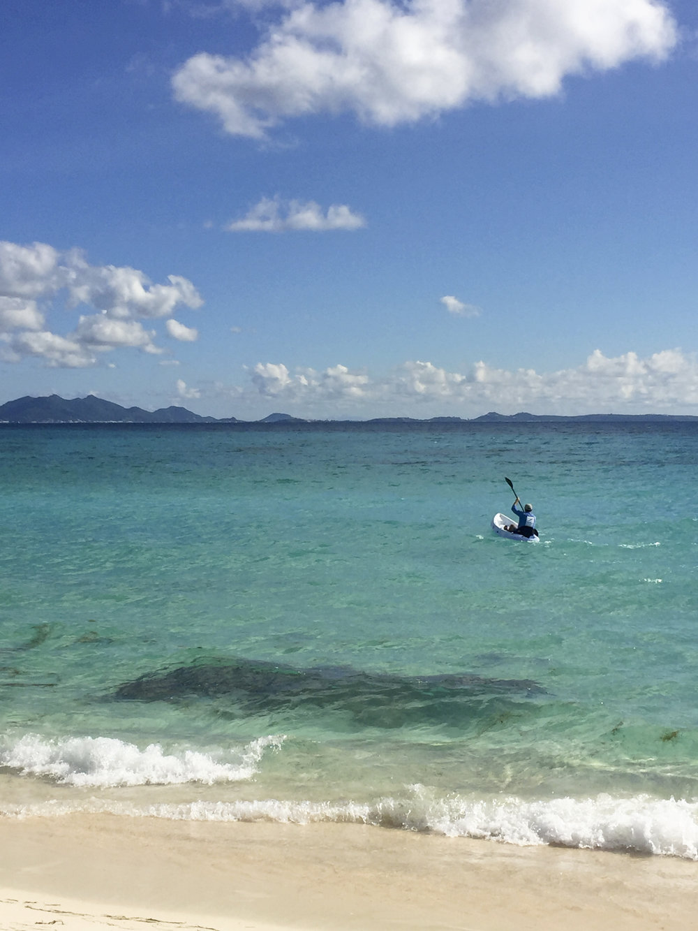 Kayaking on Shoal Bay West