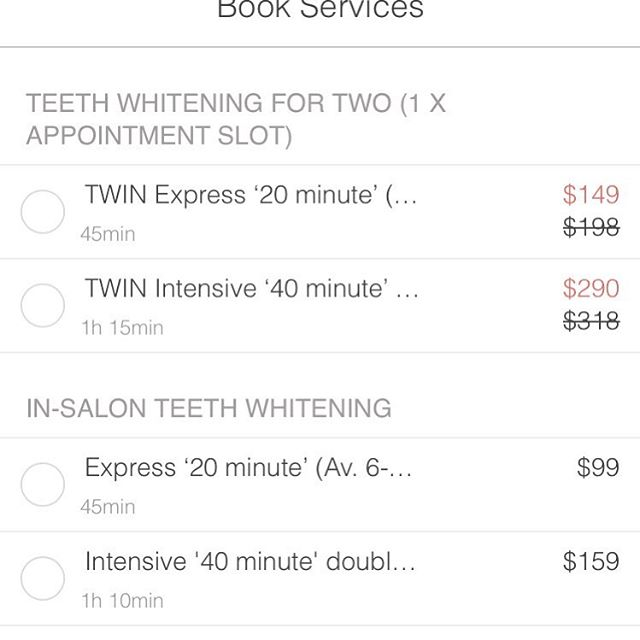 Want to bring a friend for half price?! Now available to book - a 'Twin' appointment. Link available in bio. Share the Teeth Whitening LOVE 💕🌴 . #Smile #PearlySmile #twinning #teethwhitening #bookonline #tweedcoast #goldcoast #byronbay #painfree