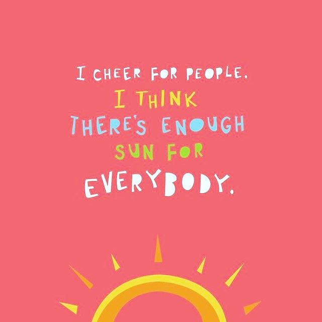 Amen to this! Be somebody's sunshine today 💕☀️
