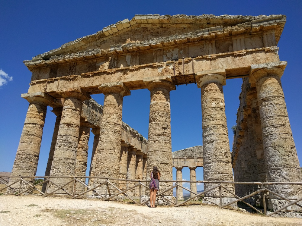 Greek Doric temple of Segesta