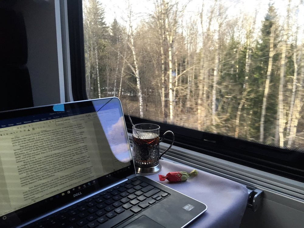 WritingRussiantrain
