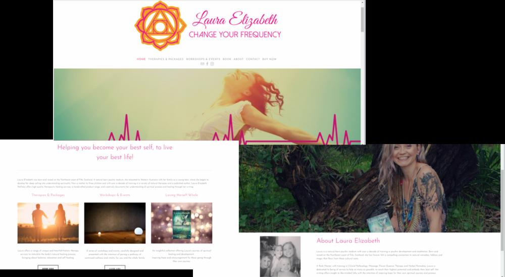 Laura Elizabeth web page