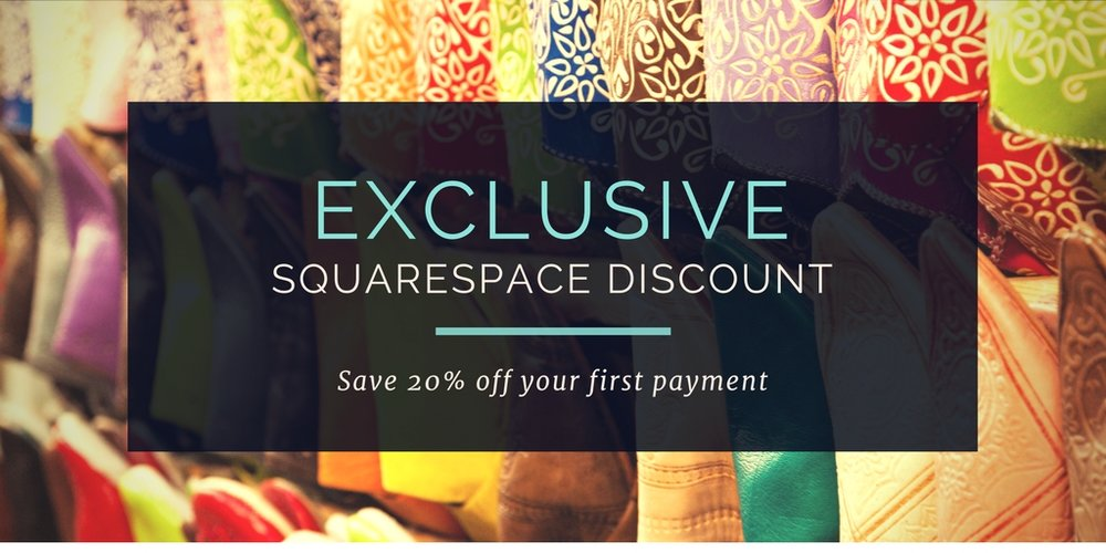 squarespace discount code