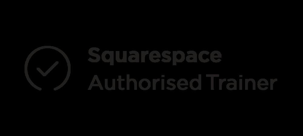 Squarespace Authorised Trainer