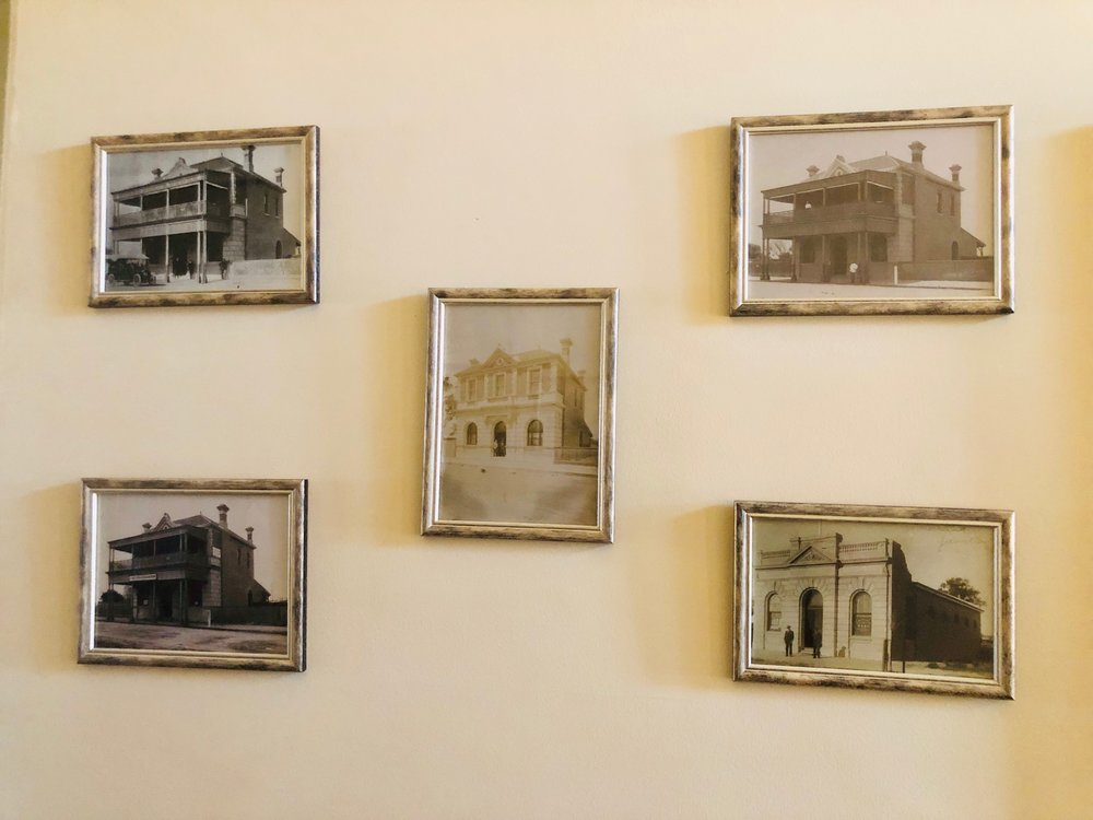 Vintage pictures of the building