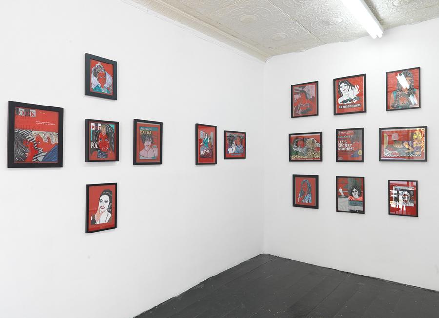 Kathe Burkhart, Installation view