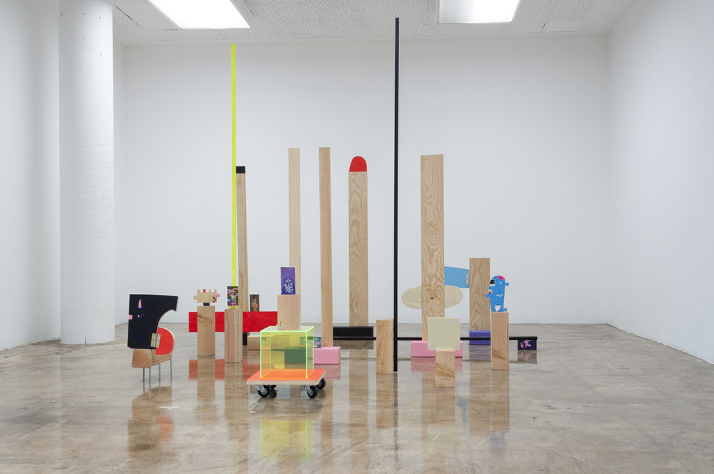 Installation view, Chuck Nanney,  Selected Ambient Works Vol. I,  MOCA Tucson, photo Maya Hawk