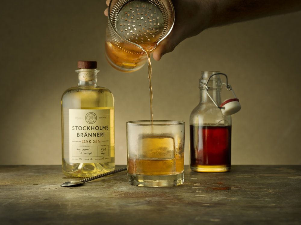 Oak Fashioned - By James Andrews