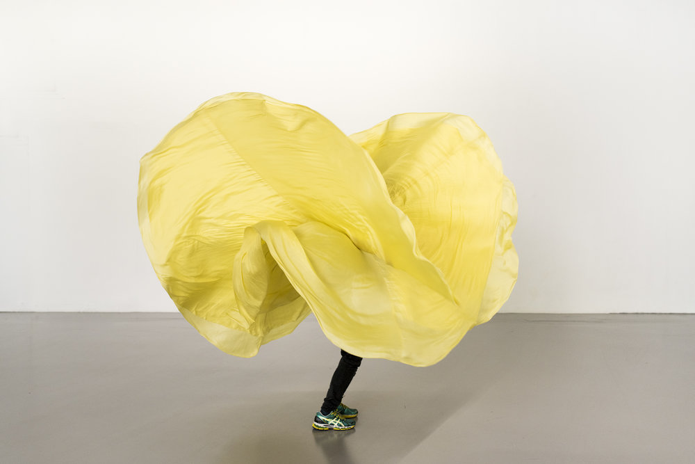Yellow Object � Loie Fuller Manual by Ola Maciejewska