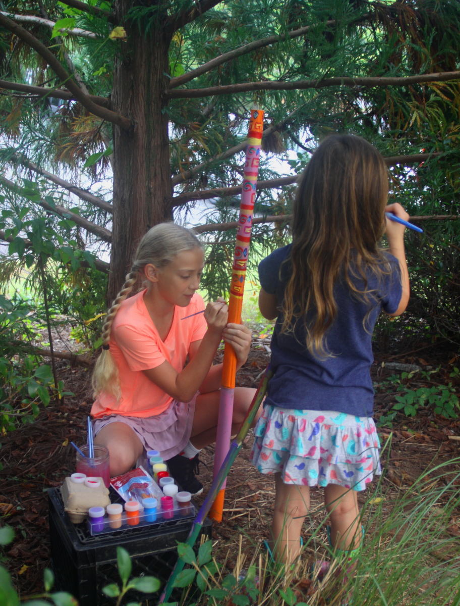 Adding details to our talking sticks email.jpg