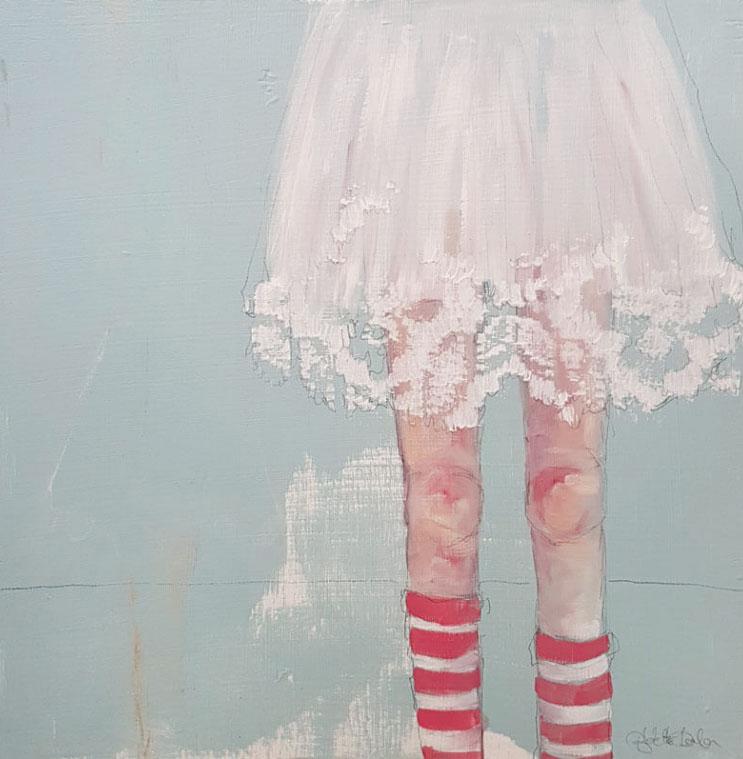 Bernadette Doolan 'Doing It My Way' 40 x 30cm oil on board