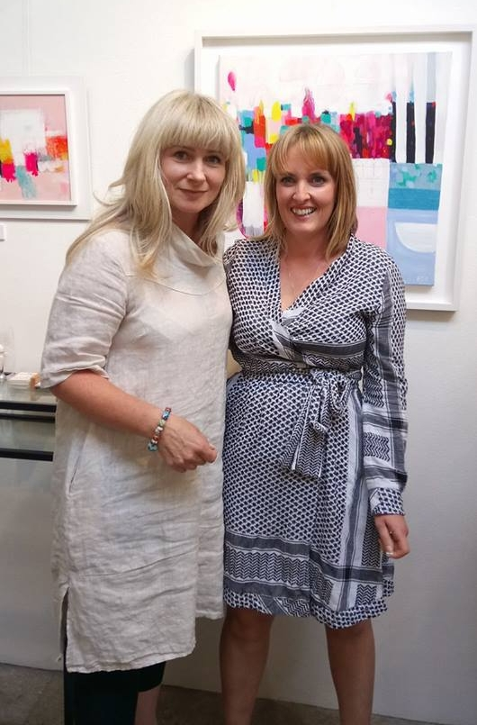 Artists Bernadette Doolan & Esther O'Kelly