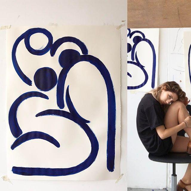 Alexa Blue Nude 1