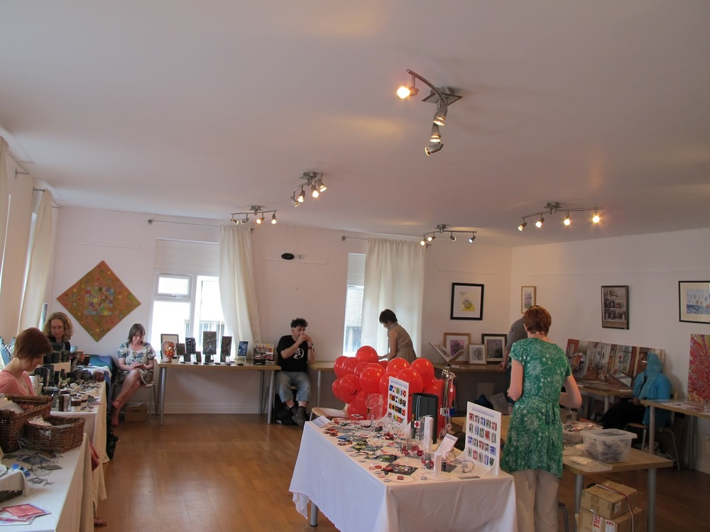 Medway Open Studios -in conference room.JPG