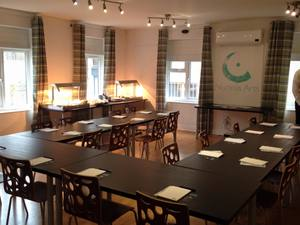 Looking for somewhere to hold a meeting, training session, social group or seminar? Nucleus Arts' Meeting Point Room is available to hire, located in a secluded courtyard just yards from Chatham High Street.