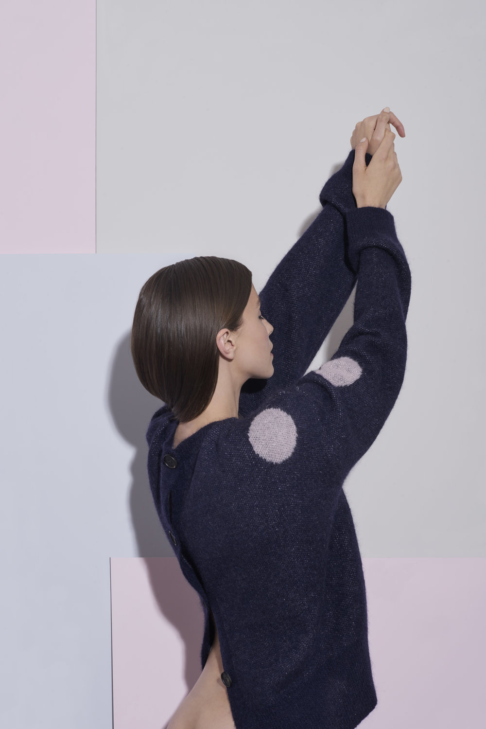 in.no Edition 1.0 - dot jumper navy