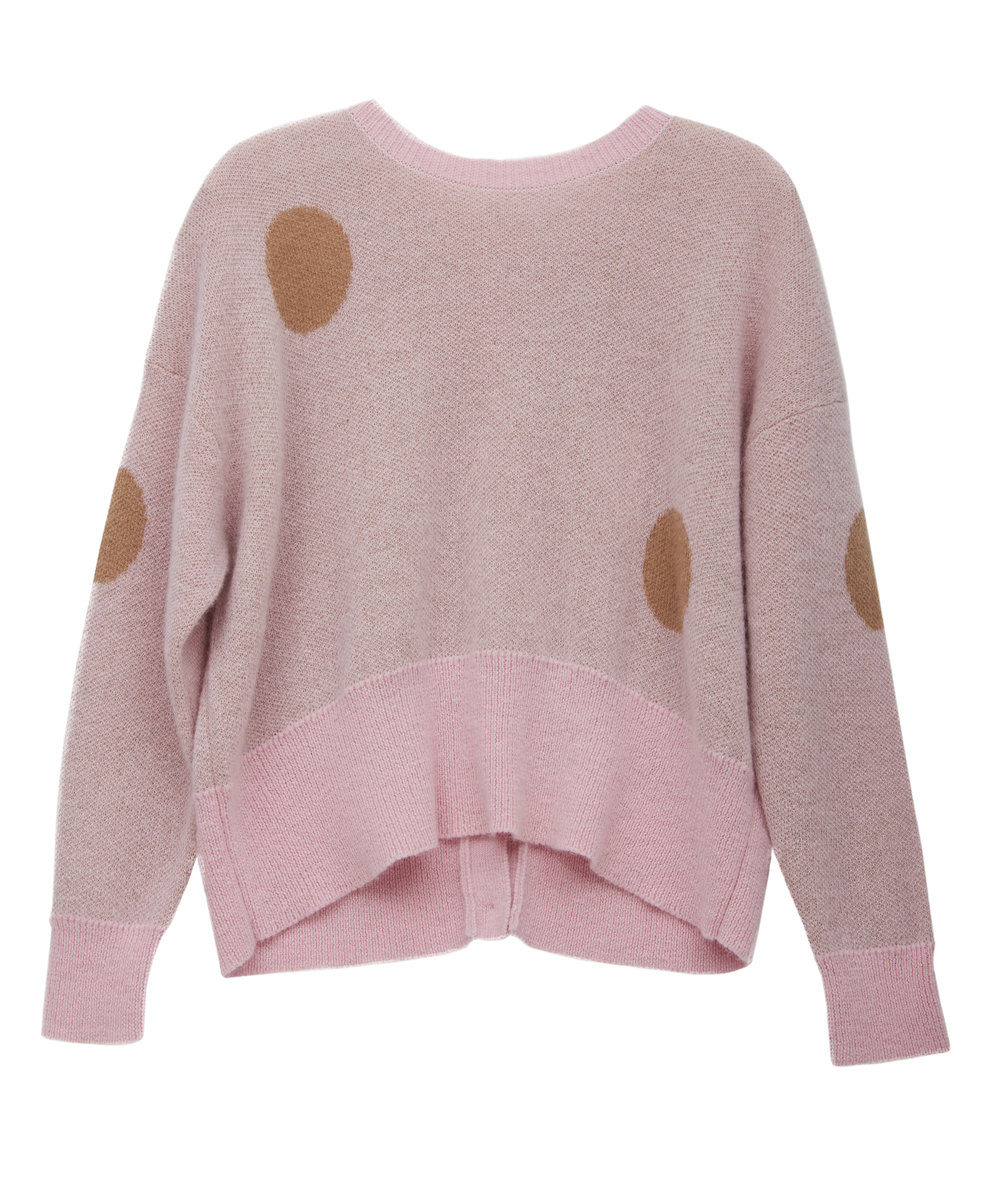 in.no Edition 1.0 pink dot jumper