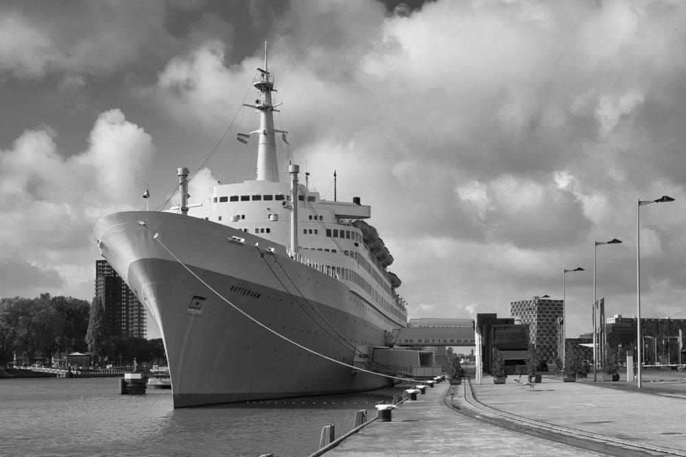 "former steamship ""SS Rotterdam'"