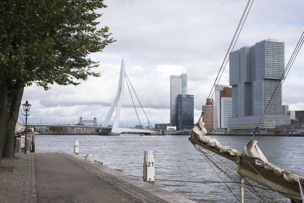 View from 'het Havenkwartier Rotterdam'