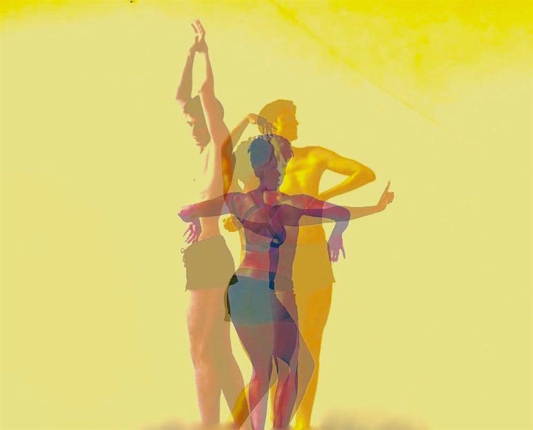 "RevéTerborg and Pascal Sangl in ""GlitterGods/Stigma"", by Jesus de Vega"