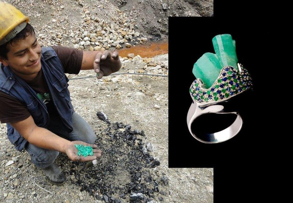 Rough Emerald Collection