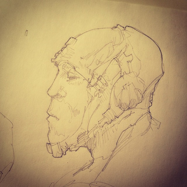 @briffajoeseph doc on frank quitely made me want to draw. With an actual pencil…