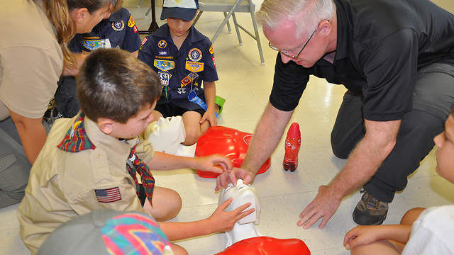 First Aid Training For Boyscouts