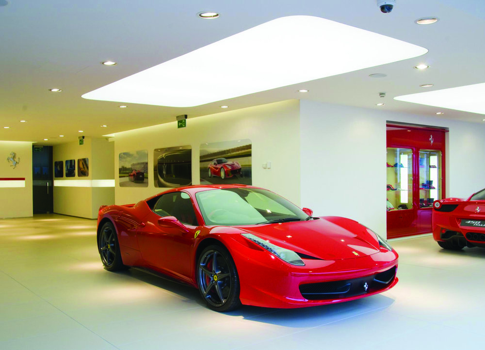 Ferrari Showroom, Belfast, BSH