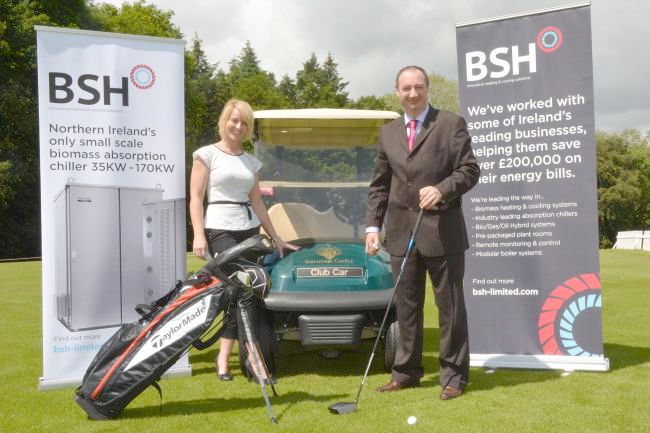 BSH and the NI Golf Open