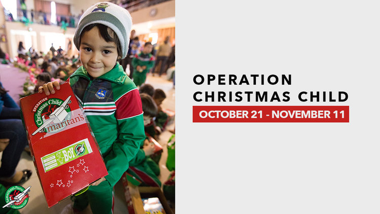 pick up operation christmas child shoeboxes in all lobbies starting october 21 fill the shoeboxes full of simple gifts to be part of sharing the love of - Operation Christmas Child Shoebox