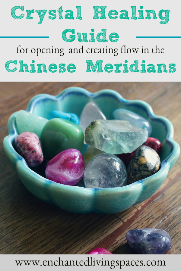 Crystals for chinese meridians