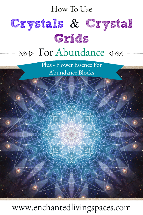 Crystals and crystal grids for abundance