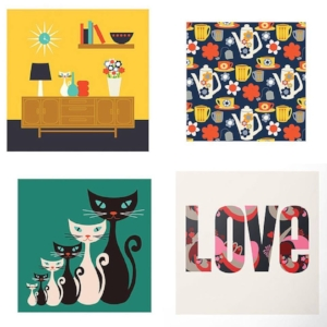 A4 prints by Gail Myerscough