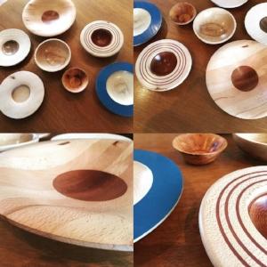 Hardwood Bowls by Steve Clarke