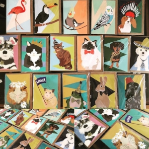 Greetings Cards by Lorna Syson